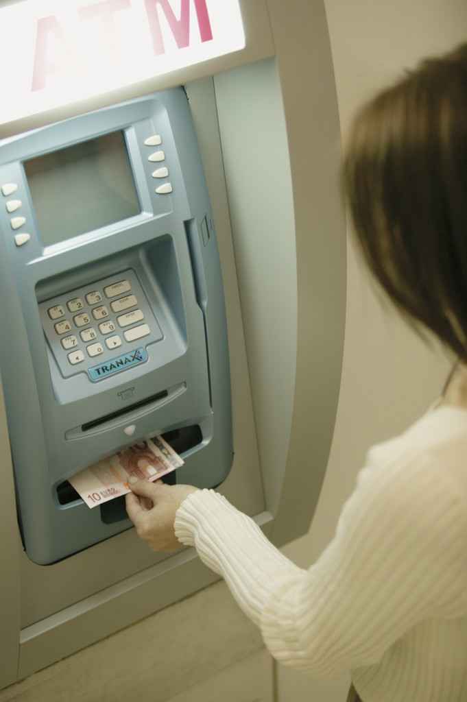 Using ATM Machine